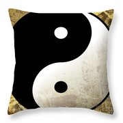 Yin And Yang 4 Throw Pillow