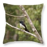 Yungabura Village Scenes Throw Pillow