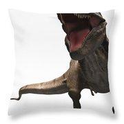 Dinosaur Tyrannosaurus Throw Pillow