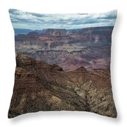 Grand Canyon National Park Throw Pillow