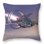 30 Mm Gunfighter Throw Pillow