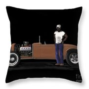 31 Ford Hot Rod Throw Pillow