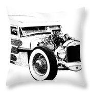 31 Model A Throw Pillow