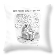 New Yorker March 3rd, 2008 Throw Pillow