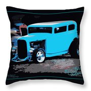 32 Ford Victoria  Throw Pillow
