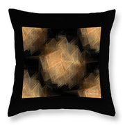 Seamless Background Fractal Throw Pillow