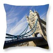 Tower Bridge London Throw Pillow