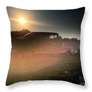 322 Olds Ghost Throw Pillow