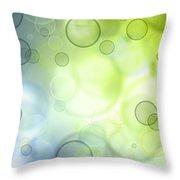 Circles Of Hope Throw Pillow