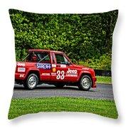 33 Jeep Motorsports Throw Pillow