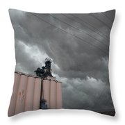 Nebraska Panhandle Supercells Throw Pillow