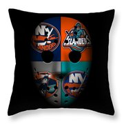 New York Islanders Throw Pillow