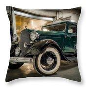 '33 Plymouth Throw Pillow