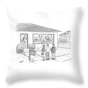 New Yorker September 15th, 2008 Throw Pillow