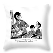 You Know, Statistically Speaking, At Least One Throw Pillow
