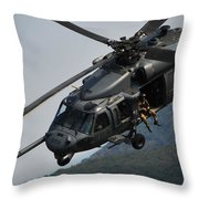 33rd Rescue Squadron, Osan Air Base Throw Pillow