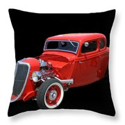 34 Ford Coupe Throw Pillow