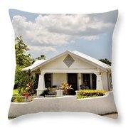 343 Cottage Throw Pillow