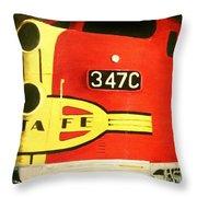 347 C  Up Close Throw Pillow