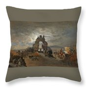 Over The Ramparts We Watch Throw Pillow