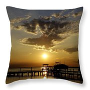 Its Marguerita Time Throw Pillow