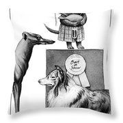 New Yorker February 14th, 2000 Throw Pillow