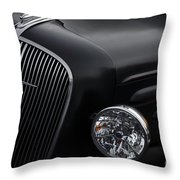36 Black Throw Pillow