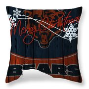 Chicago Bears Throw Pillow