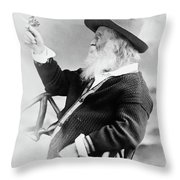 Walt Whitman (1819-1892) Throw Pillow