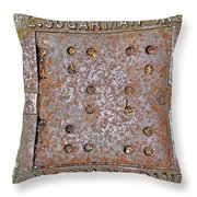 3624 Geary Blvd. San Fran Throw Pillow