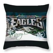 Philadelphia Eagles Throw Pillow