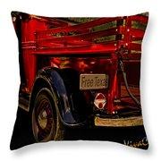 37 Ranch Truck Throw Pillow