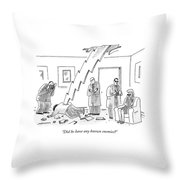Did He Have Any Known Enemies? Throw Pillow