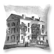 Washington, D Throw Pillow