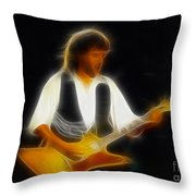 38 Special-94-jeff-gc25-fractal Throw Pillow