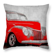 39 Ford Throw Pillow