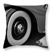 39 Lincoln Zephyr Fender  Throw Pillow