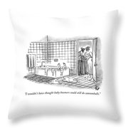 I Wouldn't Have Thought Baby Boomers Could Still Throw Pillow
