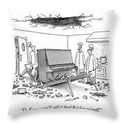 O. K. - So We'll Call It Beef Rachmaninoff Throw Pillow