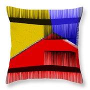 3d Abstract 1 Throw Pillow