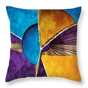 3d Abstract 23 Throw Pillow