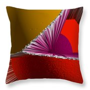 3d Abstract 5 Throw Pillow
