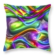 Abstract Series 38 Throw Pillow