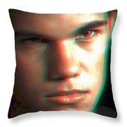 3d Jacob Throw Pillow
