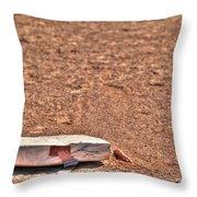3rd Base Throw Pillow