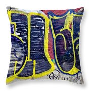 3t Graffiti Throw Pillow