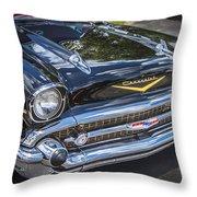 1957 Chevrolet Bel Air Throw Pillow