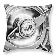 1957 Chevrolet Corvette Wheel Throw Pillow