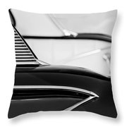 1958 Chevrolet Belair Abstract Throw Pillow