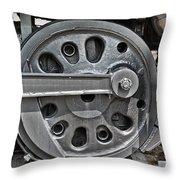 4-8-8-4 Wheel Arrangement Throw Pillow